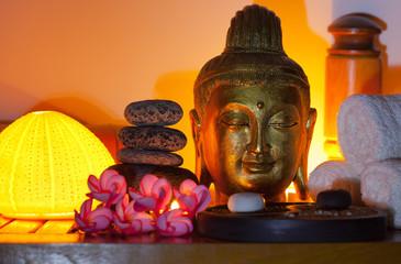 bouddha doré, institut de massage