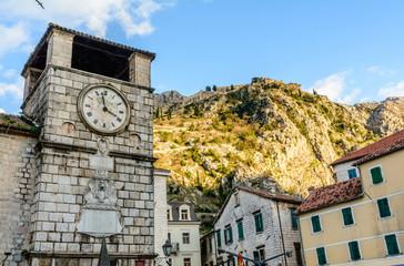 Kotor old town clock, Montenegro
