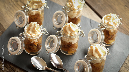verrine pomme figue et chantilly de foie gras 4