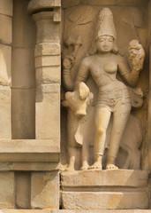 Ardhanareeswarar at Gangaikunda Temple.