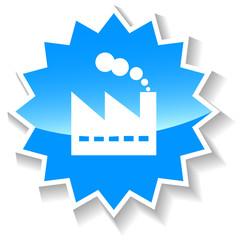 Plant blue icon