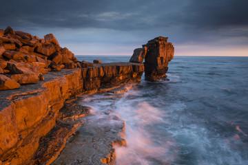 Sunset at Isle of Portland, Dorset