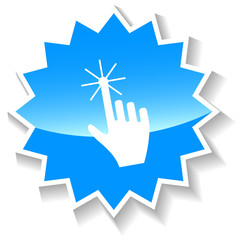 Click blue icon