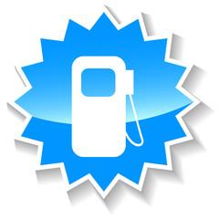 Petrol blue icon