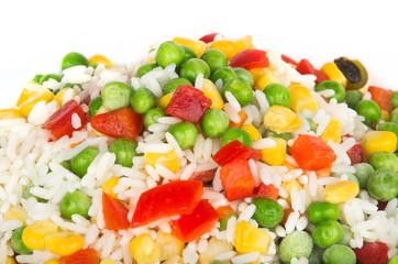 Frozen vegetable mix
