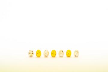 Bunte Eier Reihe
