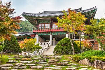 Traditional architecture old building temple in Korea