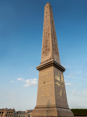 Obelisk of Luxor at the Place de la Concorde
