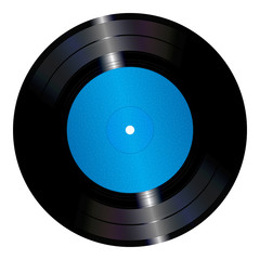 An illustration of a vinyl record.
