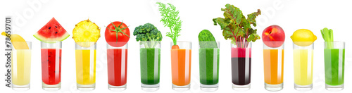 vegetable and fruit juice