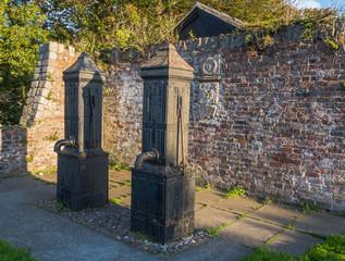 Historic water pumps