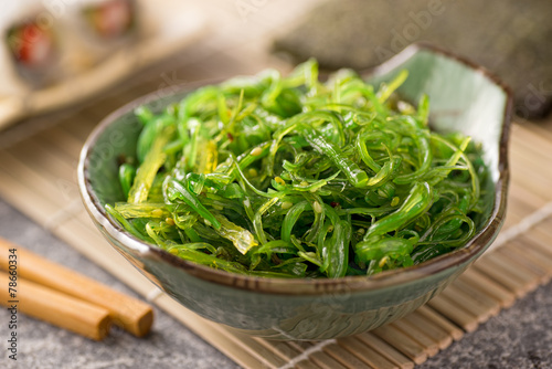 Fotobehang Voorgerecht Seaweed Salad