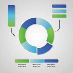 circle graphic chart business