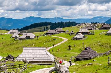 Velika planina in Slovenia
