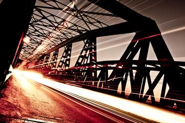 Traffic on the Bridge, Cremona, Italy