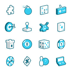 Games and Entertainment Icons