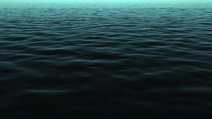 4k deep ocean waves water motion background