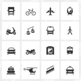 Transport Icons - 78663173