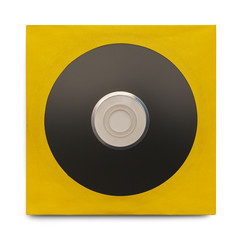 Black CD With Case