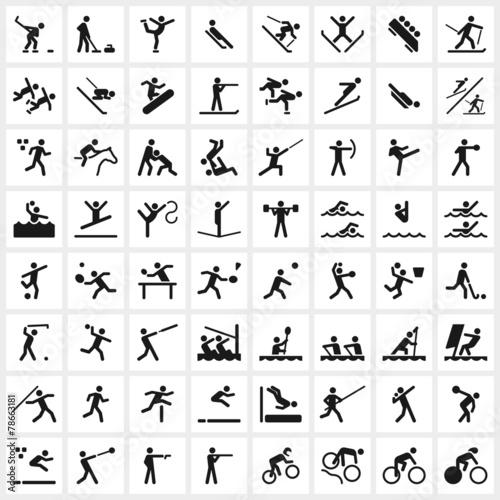 Zdjęcia na płótnie, fototapety, obrazy : Sport Symbols