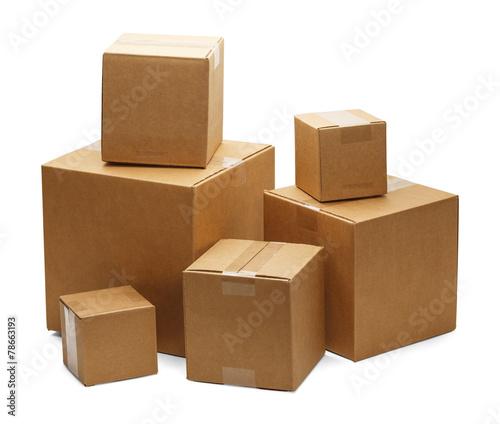 canvas print picture Boxes