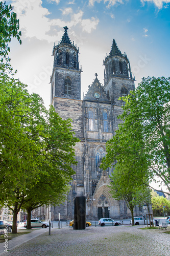 canvas print picture Magdeburg