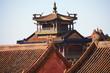 canvas print picture - Detalle arquitectura antigua oriental