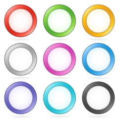 Circular Vector Buttons