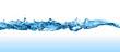 Leinwandbild Motiv Water Wave.