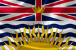British Columbia Provincial Flag of Canada