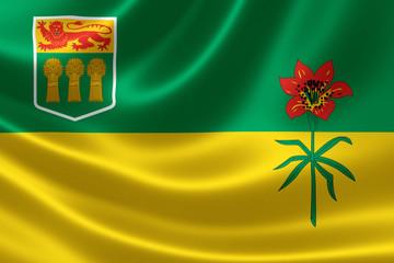 Saskatchewan Provincial Flag of Canada