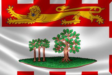 Prince Edward Island Provincial Flag of Canada