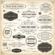 Vintage Design Elements - 78665389