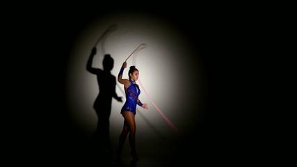 gymnast expressive artistic dance concepts