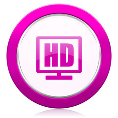hd display violet icon
