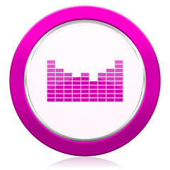 sound violet icon