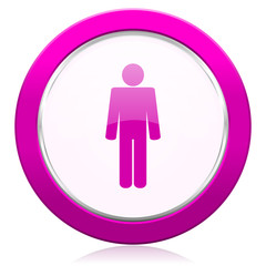 male violet icon male gender sign