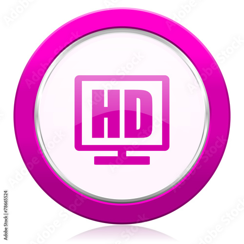 canvas print picture hd display violet icon