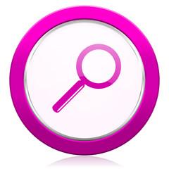 search violet icon