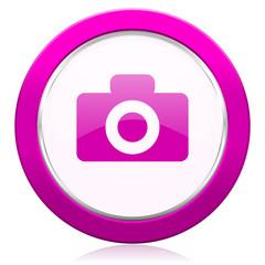 camera violet icon
