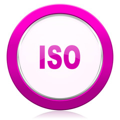 iso violet icon