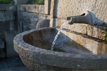 Water fountain detail
