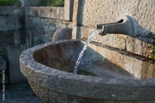 Fotobehang Fontaine Water fountain detail