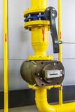Industrial gas meter, gas boiler