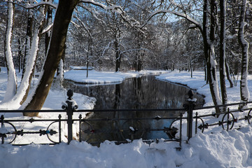 Winterlandschaft im Englischen Garten (2)
