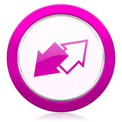 exchange violet icon