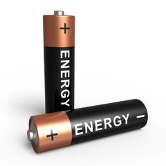 2 Batterien Energy