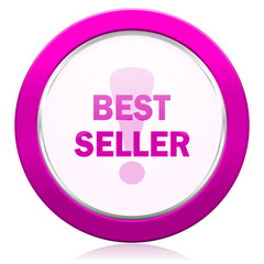 best seller violet icon