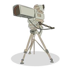 Professional Television Video Camera