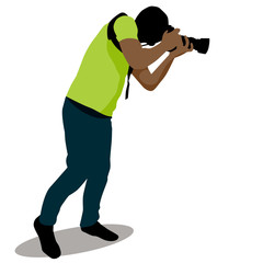 Paparazzi Taking Photo